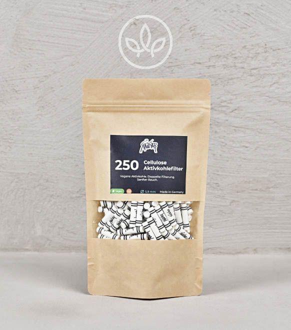 Cellulose Aktivkohlefilter 250er