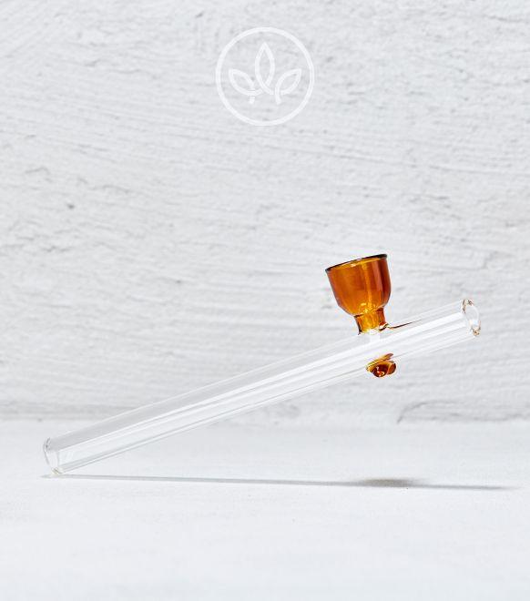 Glaspfeife Kickloch, Orange