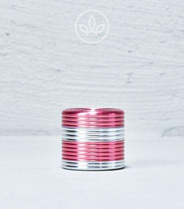 Metall Grinder Riffel 40mm 4-teilig