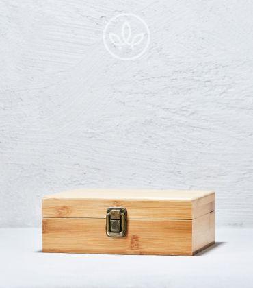 Bambus Spliffbox XL Schnalle